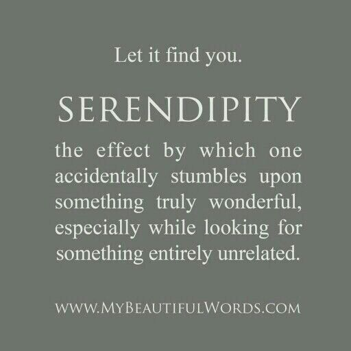 Serendipity ❤