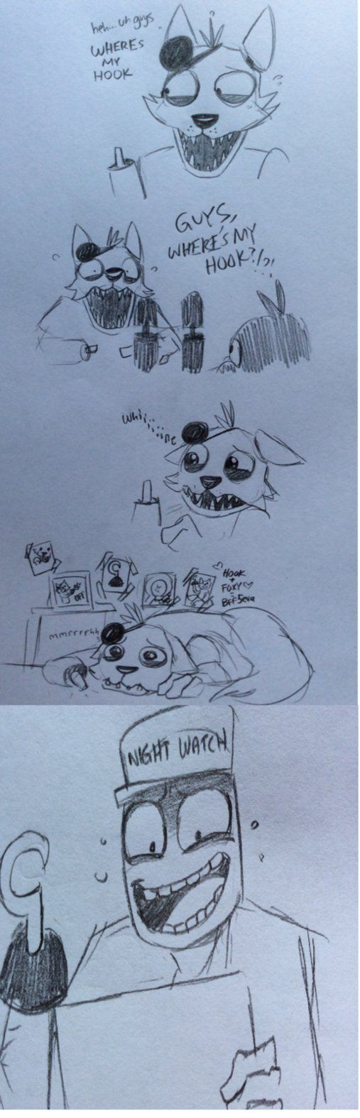 Poor Foxy by kinginbros2011 on deviantART