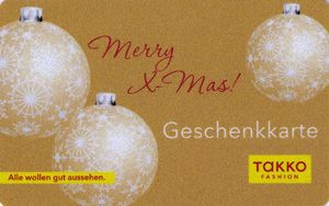 Austrian gift card - Merry X-Mas. Newly added on Colnect. @ http://colnect.com/aff/da_1/gift_cards