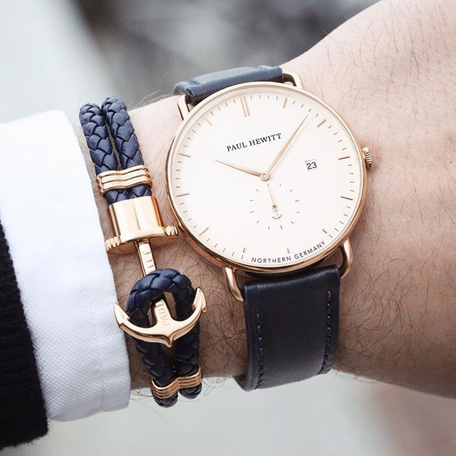 Your style should match your ambitions. Our new Grand Atlantic Line is the perfect fit - only 4 days left until sales start. ⚓️⌚️❤️ #getAnchored #paulhewitt #grandatlanticline #whitesand #sapphireglass #phrep    #Regram via @paul_hewitt