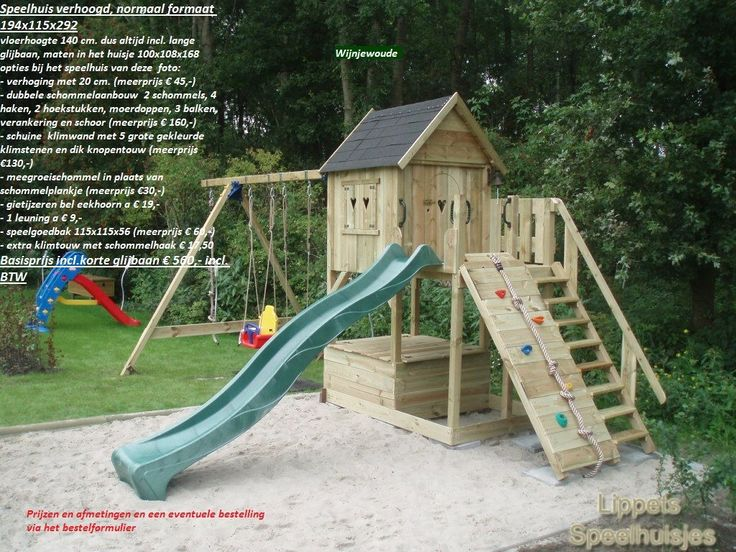 verhoogd speelhuis normaal formaat 6