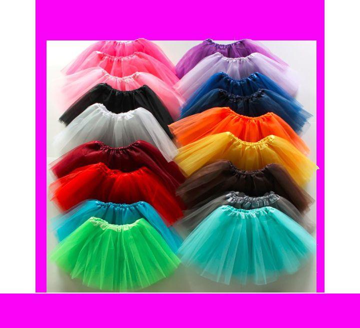 BALLETT ROCK BALLETTROCK TÜTÜ TUTU KINDER Petticoat in 10 Farben tutu,NEU