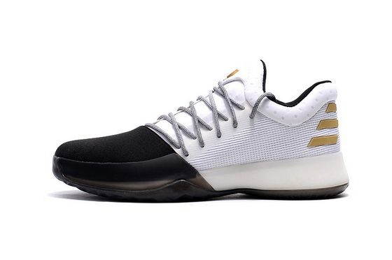 finest selection d91d7 7c552 Adidas Harden Vol.1 One Disruptor Bw0552 White Black Gold James Harden  Spring Summer 2018 Cheap Shoe