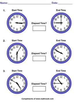 Pre School Worksheets : elapsed time vocabulary worksheets Elapsed ...