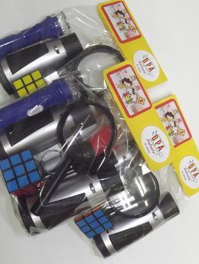 Kit Aventura Detetives do Prédio Azul DPA