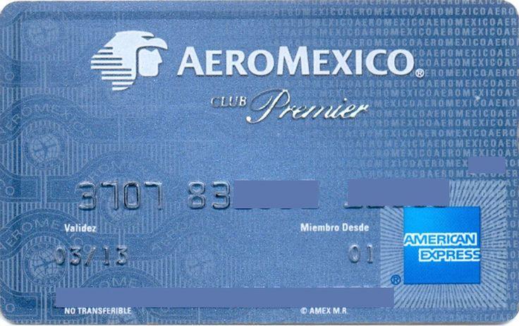 AEROMEXICO Premier Club Blue (American Express, Mexico) Col:ME-AE-0008