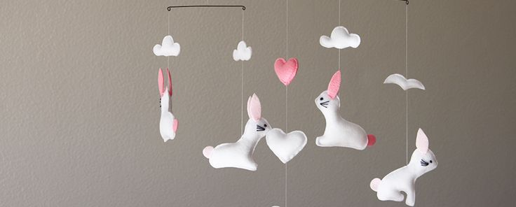 Custom Bunny Mobile, find it on www.for-example.co.za