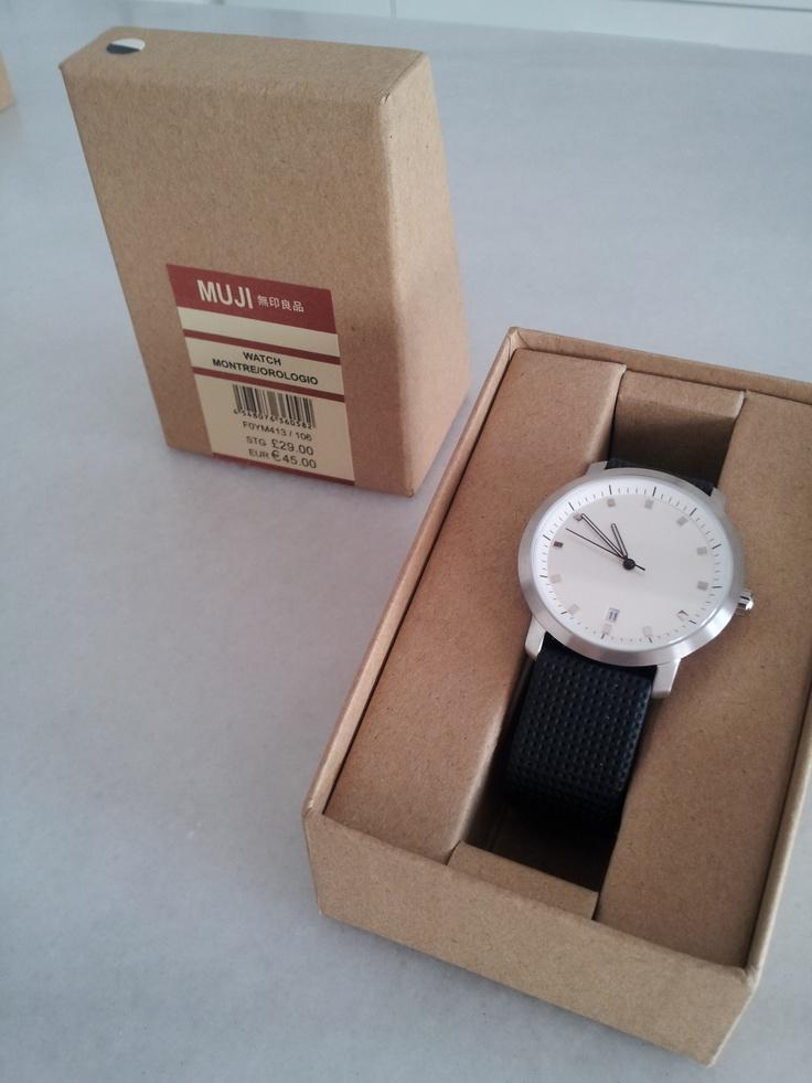 MUJI watch. (Have)