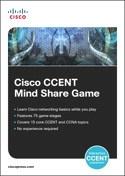 Cisco CCENT MindShareGame (DMSI) ISBN: 1587142686  http://www.ciscopress.com/bookstore/product.asp?isbn=1587142686  Topic: Cisco Certification