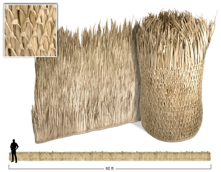 Thatch - Thatching, and Palm Thatched Roofs, for Palapa and Tiki Hut