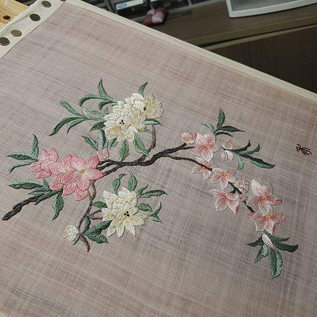 #flower#needlestudio #needlework #embroidery