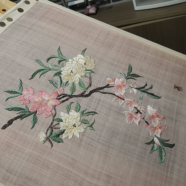 #flower#needlestudio #needlework #embroidery