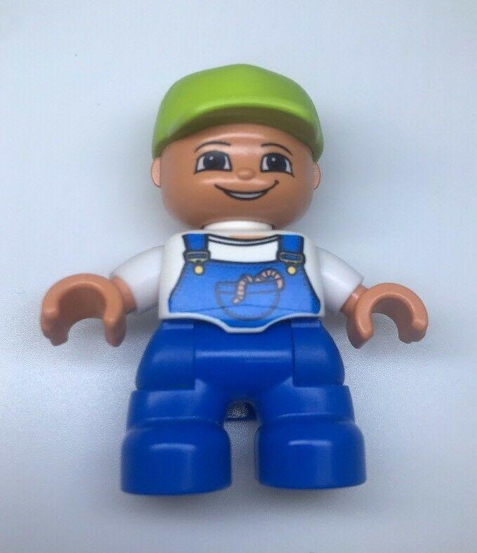 Lego Duplo Figure African American Fireman Multi-Color