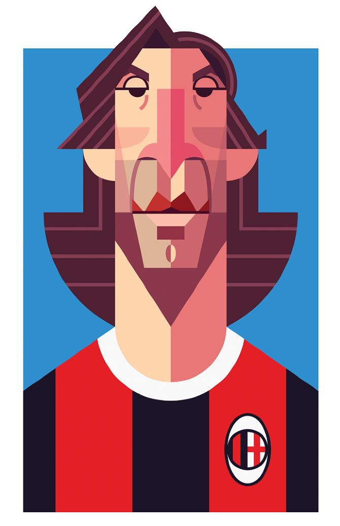 Pirlo - Playmakers - Daniel Nyari Graphic Design & Illustration