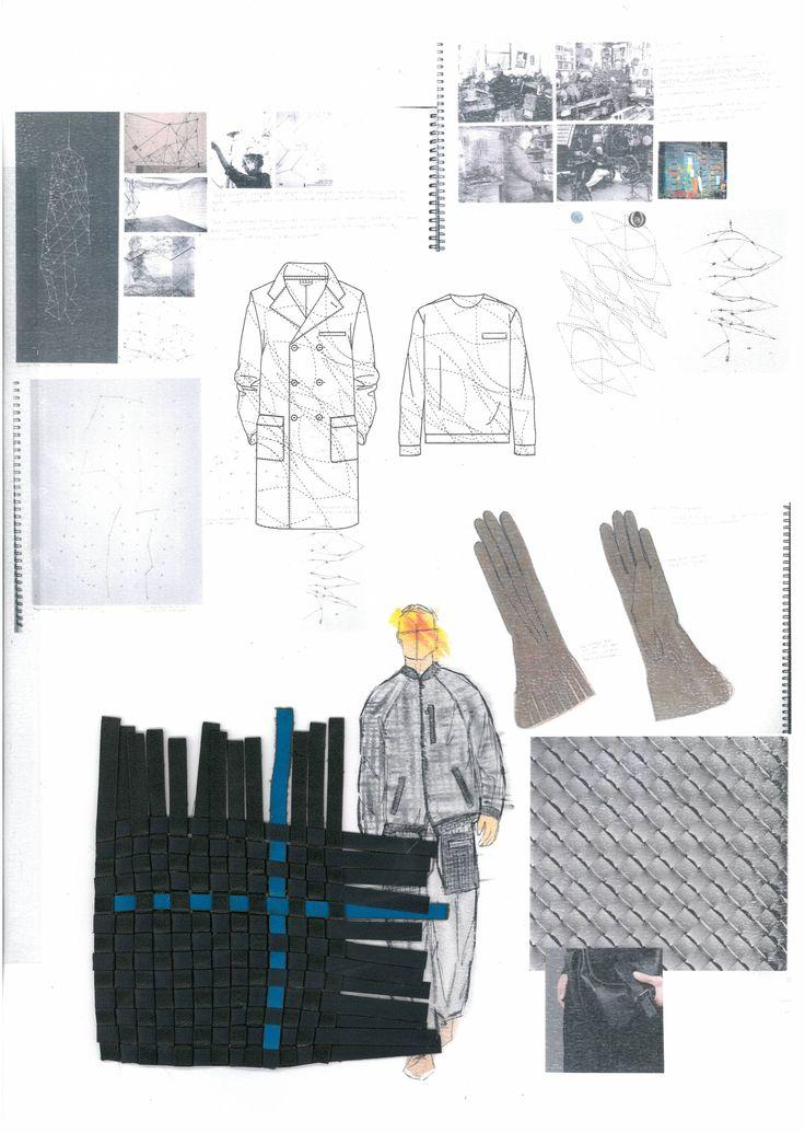 Fashion Sketchbook - fashion design drawings & samples; creative process; fashion portfolio // Jess Puntan