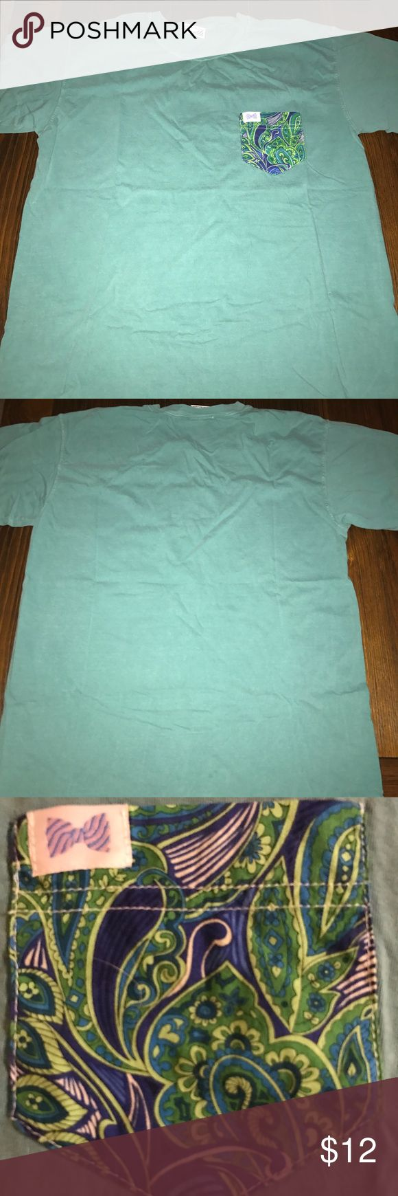Fraternity Collection Pocket Tshirt Adult L Tops Tees - Short Sleeve