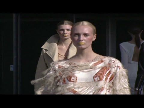 CNN talking to Katharine Hamnett about sustainable development in the fashion industry. Features Ivana Helsinki entries for Copenhagen Fashion Summit. Go #ecofashion!