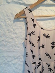 Ladies Imprint Bird Print Swing Dress - Size 8 - RRP $69  Now Selling! Click through to go to eBay auction.