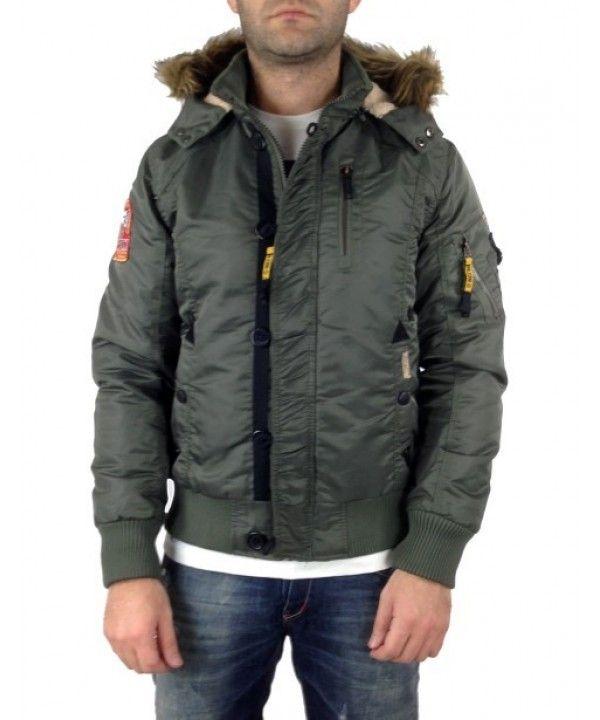 Μπουφάν Inox 14304C (Χακί) #χειμωνιατικαμπουφαναντρικα #εκπτωσεις #προσφορες #menjacket