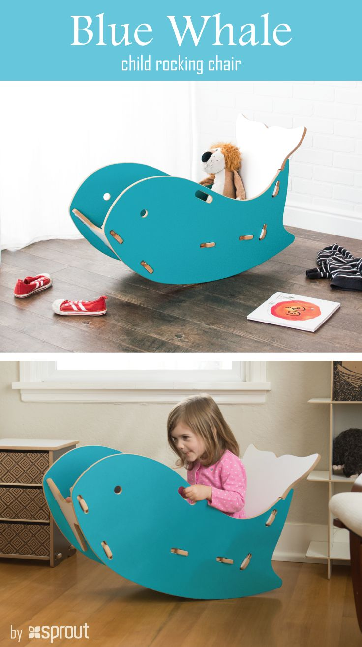 Step 2 rocking chair - This Adorable Blue Whale Rocking Chair Adds A Fun Pop Of Color To Your Child S Adventures