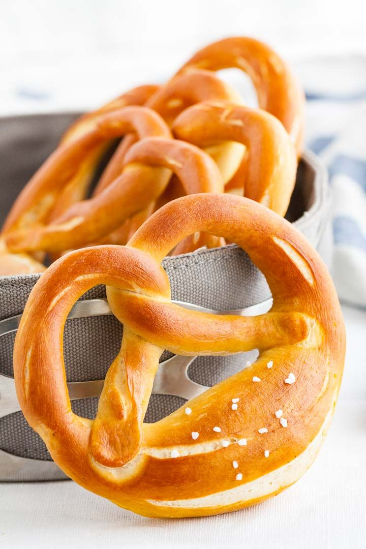 These Bavarian pretzels are a very popular snack in Germany and perfect for your next Oktoberfest party! They taste delicious dipped incheese sauce and are easy to make at home with simple ingredients. This authentic German Pretzel Recipe makes enough for a crowd as an appetizer.
