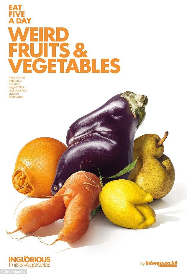 French supermarket Intermarché has launched the initiative Inglorious Fruits and Vegetable...