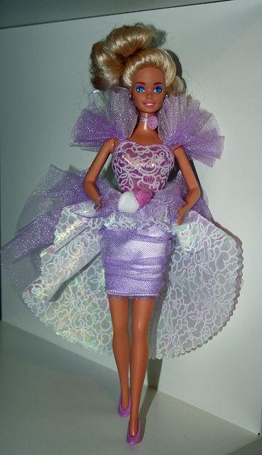 1989 Lavender Surprise Barbie - named Serina in Dolton