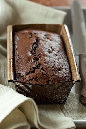 Chocolate Gingerbread Loaf.