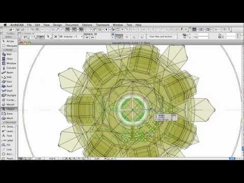 Classics modeled in ArchiCAD - The Sagrada Familia - Passion Towers [hi-speed] - YouTube