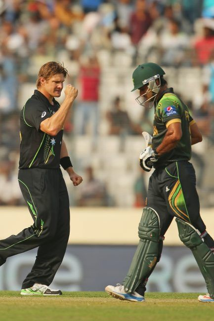 one of the best allrounders in the world, Shane watson(L)