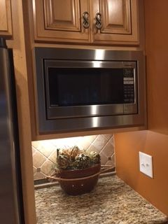Awesome Microwave Cabinet Trim Kit