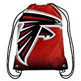 NFL Football Team Logo Drawstring Backpack Bag - Pick Team (Atlanta Falcons) at Amazon.com