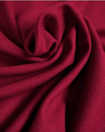 1.4m Wool Blend Crepe Suiting Fabric - Foxglove