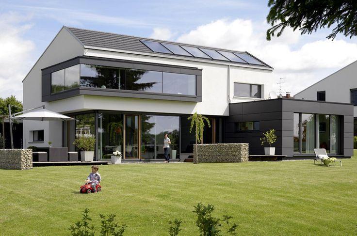 Bauhaus Einfamilienhaus Satteldach Bauhaus Einfamilienhaus Satteldach Architecturalmodels Architecture Bauhaus In 2020 Bauhausstil Haus Haus Architektur Haus