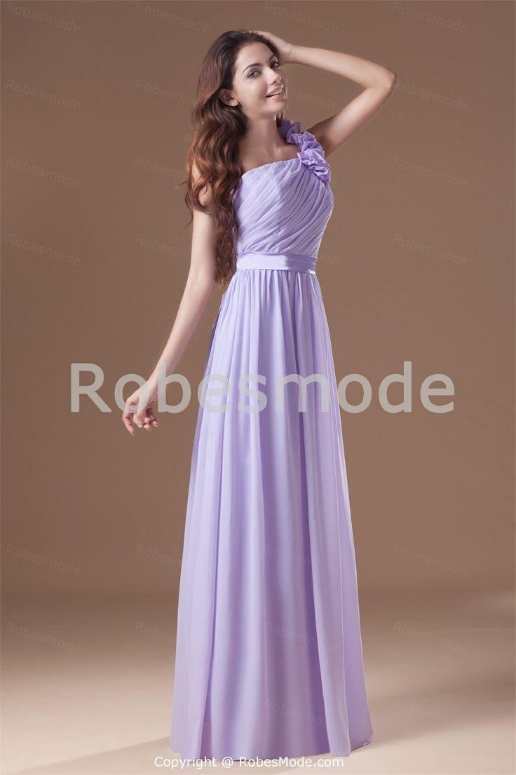 15 best bridesmaid dress ideas images on pinterest dream dress dwynwen ruffled one shoulder chiffon a line long bridesmaid dress with sash ombrellifo Choice Image
