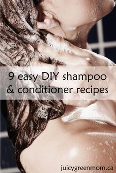 Hair Conditioner from buzzfeed.com 1 can coconut milk 1 tablespoon honey 1 tablespoon olive oil a few drops of essential oil of your choice! (I added this because it just makes it more awesome) Put ingredients into a container and shake to mix well. Shake before using.