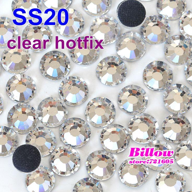 Promoción! SS20 1440 unids claro DMC HotFix del FlatBack cristal piedras Strass asiento de transferencia de calor Hot Fix piedras cristal B2007 en Diamantes de Imitación de Casa y Jardín en AliExpress.com | Alibaba Group