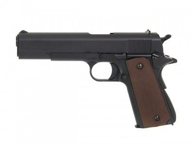 Replika pistoletu 1911 Full Metal Gas Blow Back Pistol [KJW]