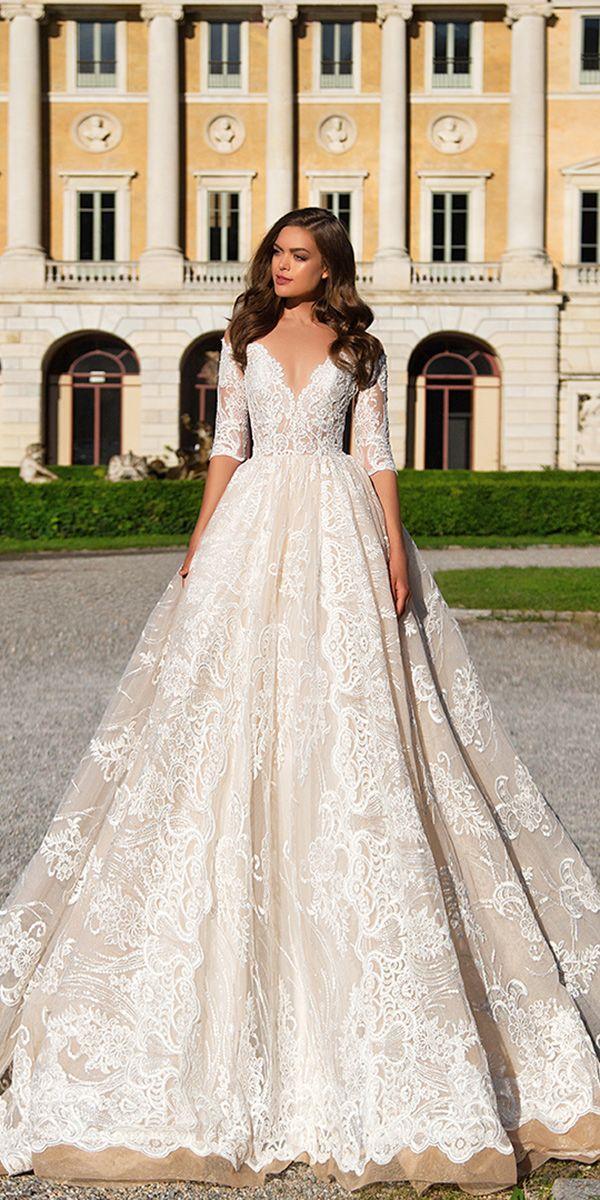 Wedding gowns with sleeves in kerala : Weddingforward milla nova wedding dresses weddings