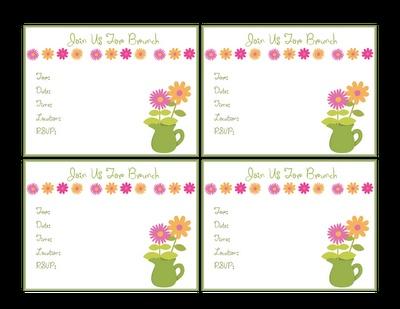 Brunch invitations for Mother's DayClassroom Love Ela, Love Ela Prints, Schools Ideas, Living Forever, Abby 1St, Touch Living, Brunches Invitations, Paper Crafts, Teas Parties
