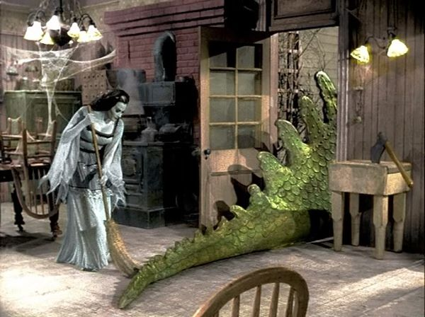 The Munsters - Spot's tail....lol