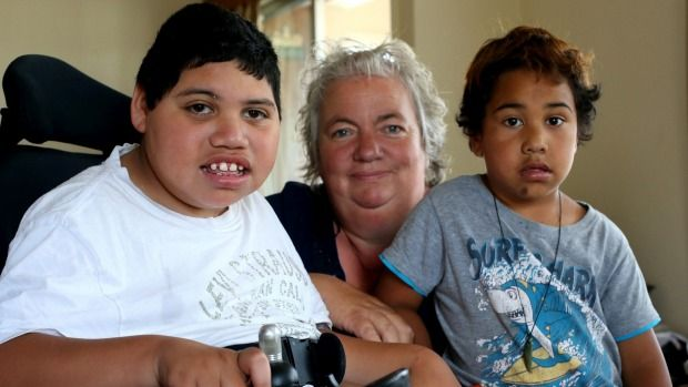 The single mother of a boy with cerebral palsy could become homeless tomorrow and living in a tent with her kids.