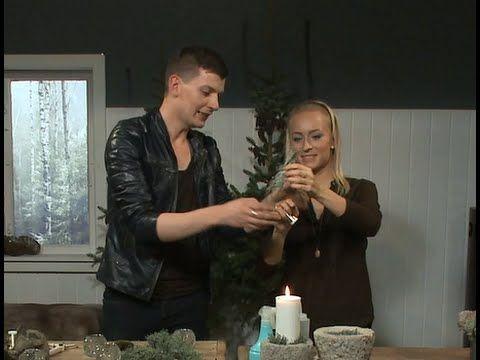 Lav magiske juletræer med Lars Jon - YouTube