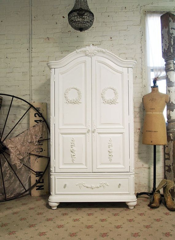 Painted Furniture Cottage Chic Cabinets Shabby Chic Forward Painted