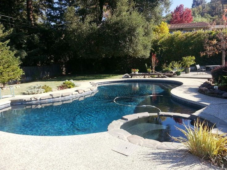 free form pool designs contemporary with stone hot tub surround san francisco fence contractors