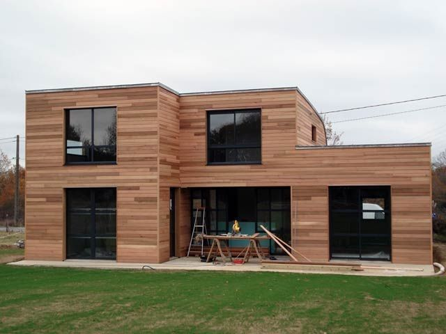 Agréable Maison Moderne En Bois #8: Pinterest