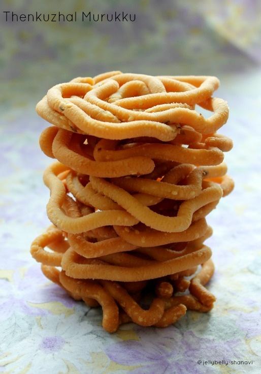Thenkuzhal Murukku - Indian Snack #EatHealthy #StayHealthy #FreedomHealthyOil
