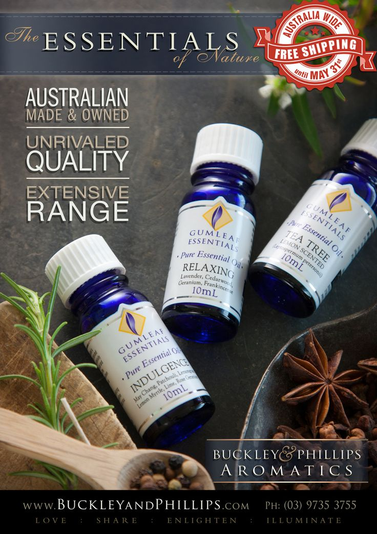 Essential Oils - Full page inside cover advert in Giftwrap magazine. May/June 2014