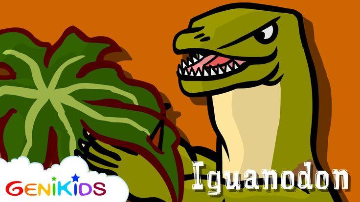 Iguanodon - Le Dictionnaire sur les dinosaures - Dessin animé éducatif