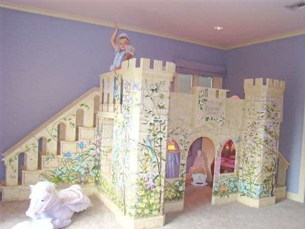 Best 25 princess beds ideas on pinterest for Princess themed bed